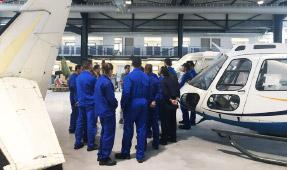 Le Hall Aéronautique accueille ses premières formations